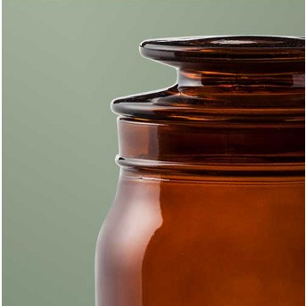 Bath Canister Amber - Hearth & Hand™ with Magnolia