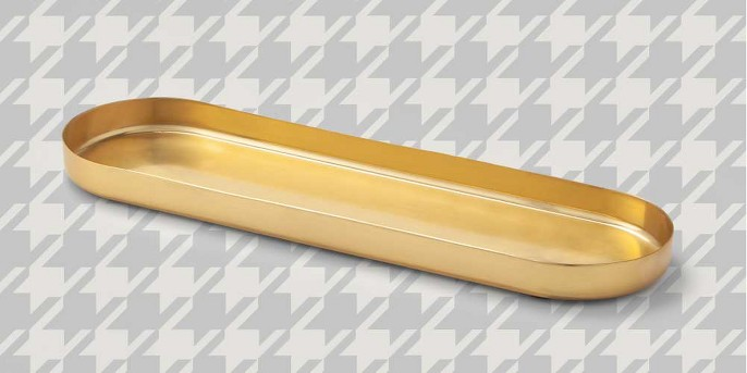 Decorative Brass Tray Gold - Project 62™