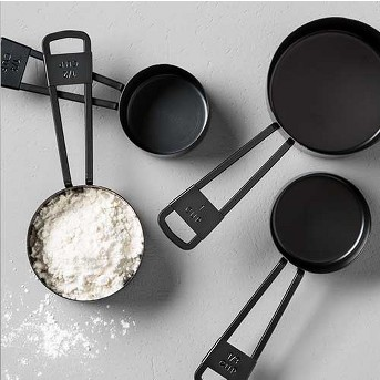 4pc Measuring Cup Set Black - Hearth & Hand™ with Magnolia
