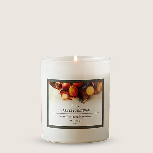 11oz Glass Jar Harvest Festival Candle - Threshold™