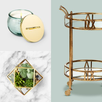 How to turn a bar cart into 4 rolling life improvement stations.