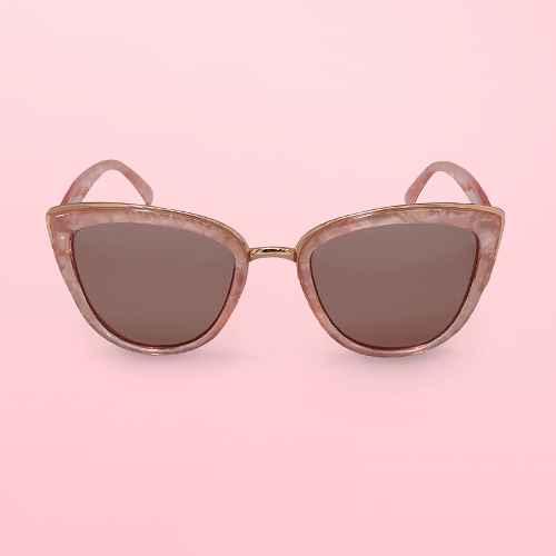 Women's Cateye Plastic Metal Combo Sunglasses - Wild Fable™ Pink
