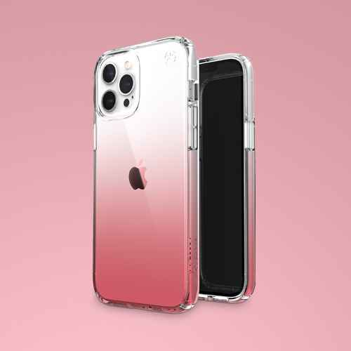 Speck Apple iPhone 12 Pro Max Presidio Perfect Clear Ombre - Vintage Rose