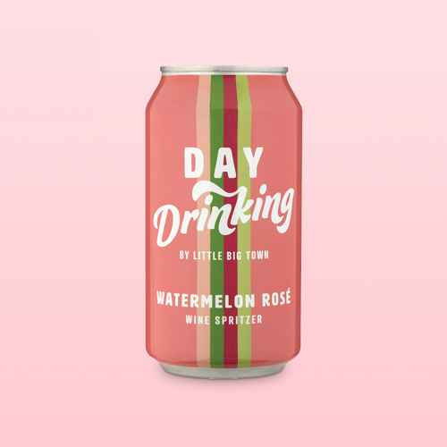 Day Drinking Watermelon Rosé Wine - 375ml Can, Day Drinking Southern Peach Wine - 375ml Can