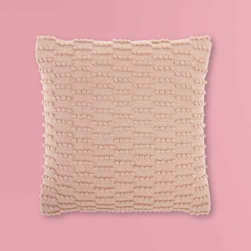 """18""""x18"""" Life Styles Woven Dot Striped Square Throw Pillow - Mina Victory"""