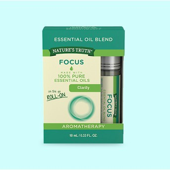 Natures Truth Focus Essential Oil Roll On Blend - 10ml