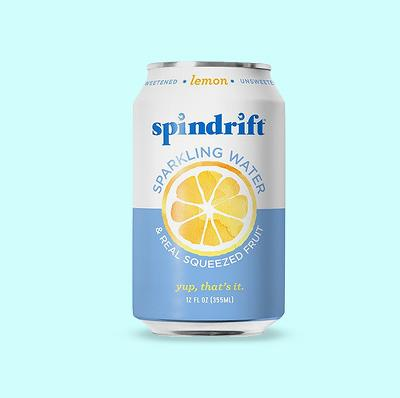 Spindrift Sparkling Water Lemon -8pk/12 fl oz Cans