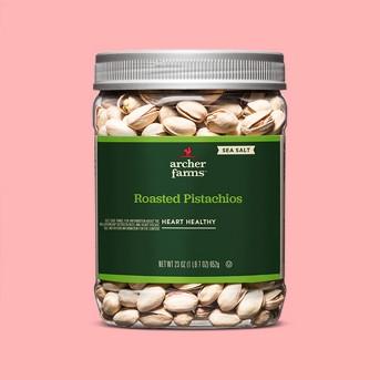 Sea Salt Roasted Pistachios - 23oz - Archer Farms™
