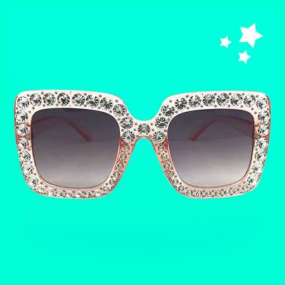 Women's Square Sunglasses - Wild Fable™ Pink
