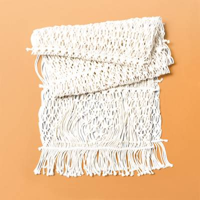 Macrame Table Runner - Threshold™