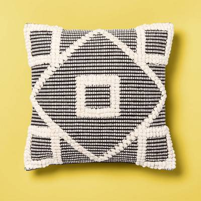 Diamond Throw Pillow Black - Opalhouse™