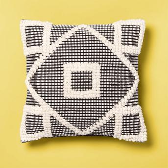 Diamond Throw Pillow Black - Opalhouse™