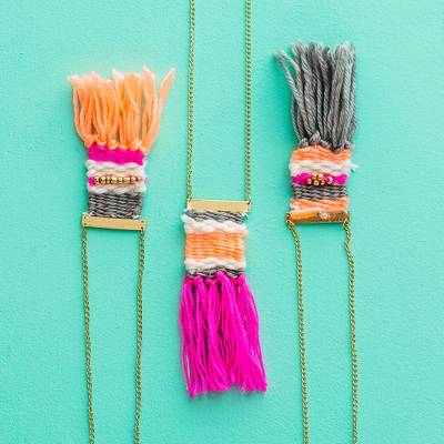 Brit + Co® Weave a Necklace Kit