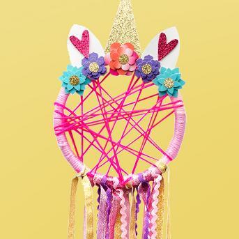 Unicorn Dream Catcher DIY Activity Kit - Yoobi™