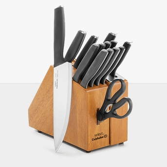 Select by Calphalon 15pc Self-Sharpening Cutlery Set With Sharp In Technology