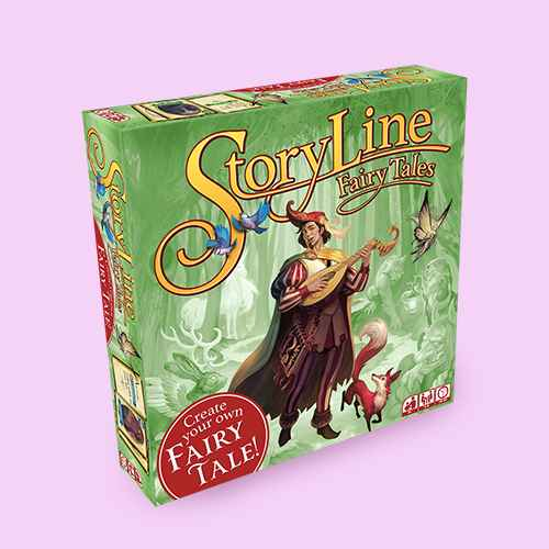 Zman Story Line: Fairy Tales Game