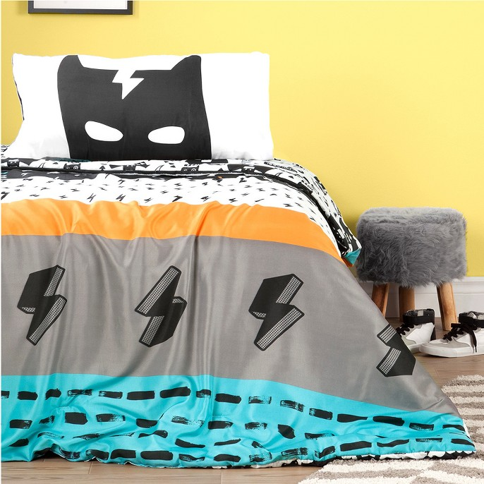 Superhero Reversible  Comforter Set (Twin) - South Shore®