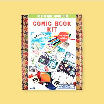 Kid Made Modern 25pc Comic Book Kit