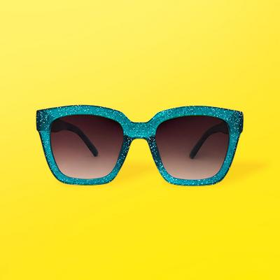 Women's Smoke Sunglasses - Wild Fable™ Turquoise