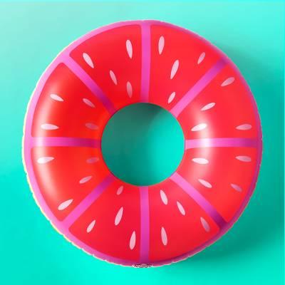 Giant Lemon Pool Float Pink - Sun Squad™