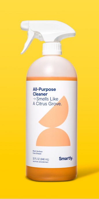 Citrus Scented All-Purpose Cleaner - 32 fl oz - Smartly™