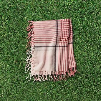 Women's Woven Square Scarf - Universal Thread™ Orange