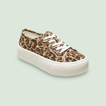 Women's Taryn Canvas Platform Sneakers - A New Day™