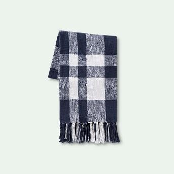 Plaid Cotton Throw Blanket - Threshold™
