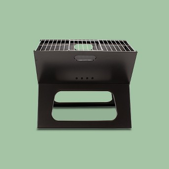 Picnic Time X Grill - Portable Charcoal Grill with Tote Model 775-00-175