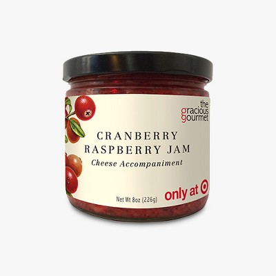 The Gracious Gourmet Cranberry Raspberry Jam 8 oz