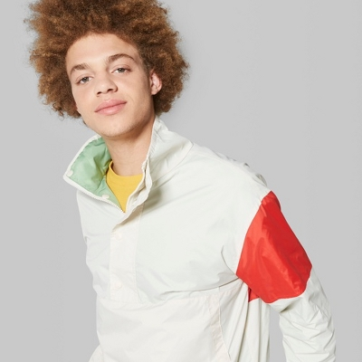 Men's Long Sleeve Colorblock Windbreaker Jacket - Original Use™ Beachcomber