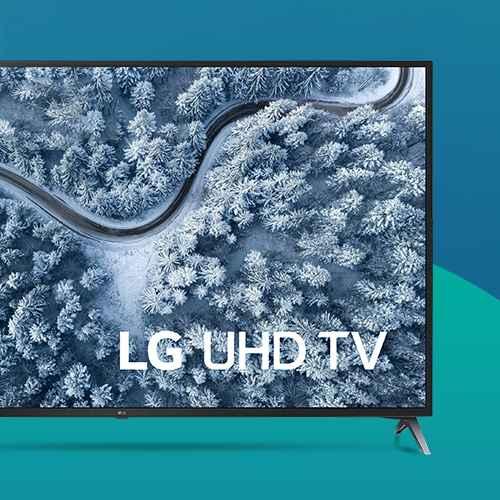 LG 75'' Class 4K UHD Smart LED HDR TV - 75UP7070PUD