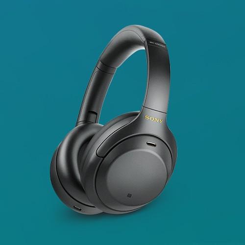 Sony WH-1000XM4 Wireless Noise Canceling Overhead Headphones - Black