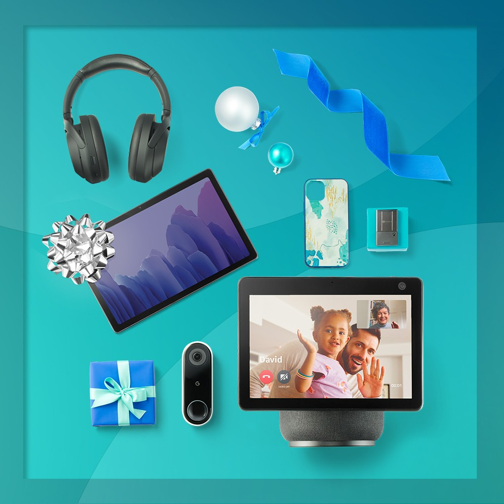 """Sony WH-1000XM4 Wireless Noise Canceling Overhead Headphones - Black, Samsung Galaxy Tab A7 10.4"""" Display 32GB Storage Tablet - Gray, Amazon Echo Show 10 (3rd Gen)- HD Smart Display with Alexa - Charcoal, Google Nest HDR Video Doorbell (Wired), Seagate Storage Expansion Card 1TB Officially Licensed for Xbox Series X