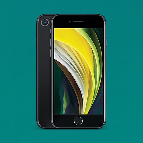 Tracfone Prepaid iPhone SE 2nd Gen (64GB) - Black