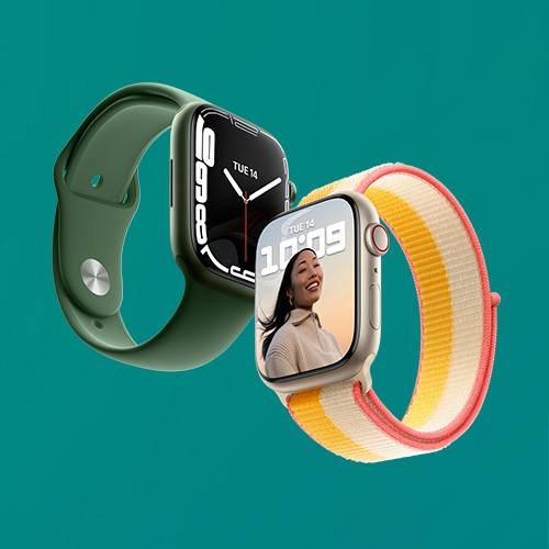 Apple Watch Aluminum Series 7 (GPS + Cellular), Apple Watch Series 7 (GPS), Apple Watch Nike Series 7 (GPS + Cellular), Apple Watch Nike Series 7 (GPS)