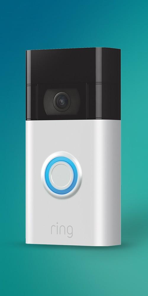 Ring 1080p Wireless Video Doorbell - Satin Nickel