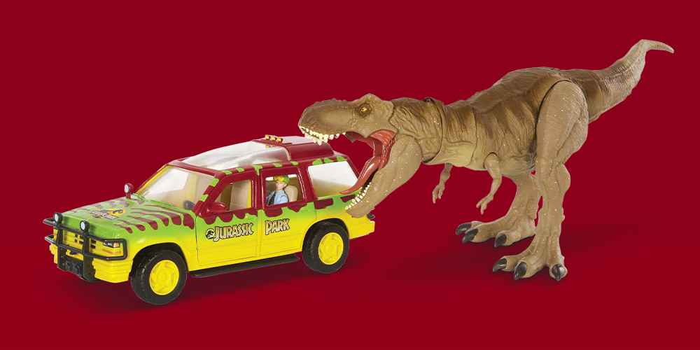 Jurassic World Legacy Collection - Tyrannosaurus Rex Escape Pack (Target Exclusive)