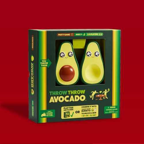 Throw Throw Avocado Game, Throw Throw Burrito Board Game, Throw Throw Burrito Game: Extreme Outdoor Edition