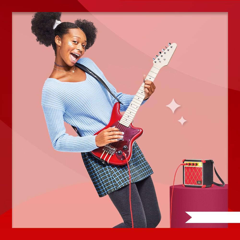 FAO Schwarz Electric Guitar and Amp