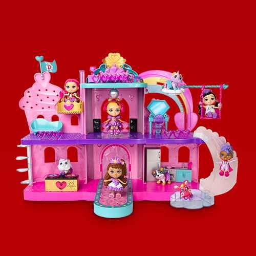 Love, Diana Fashion Fabulous Magic Music Castle Playset