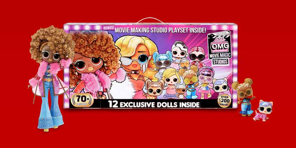 L.O.L. Surprise! O.M.G. Movie Magic Studios, L.O.L. Surprise! O.M.G. Movie Magic Gamma Babe Fashion Doll, L.O.L. Surprise! O.M.G. Movie Magic Spirit Queen Fashion Doll, L.O.L. Surprise! O.M.G. Movie Magic Starlette Fashion Doll, L.O.L. Surprise! O.M.G. Movie Magic Ms. Direct Fashion Doll