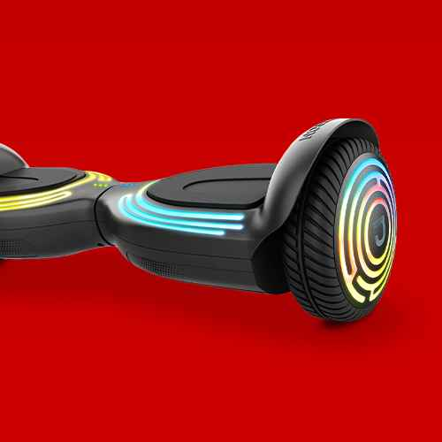 Jetson Sync All-Terrain Dynamic Sound Hoverboard - Black