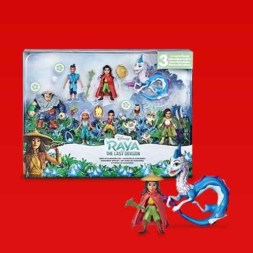 Disney Raya and the Last Dragon Land of Kumandra Set