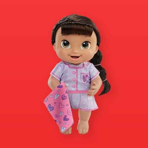 Baby Alive Lulu Achoo Baby Doll - Blonde Hair, Baby Alive Lulu Achoo Baby Doll - Brown Hair, Baby Alive Lulu Achoo Baby Doll - Black Hair