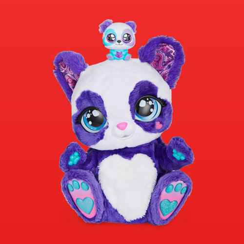 Peek-A-Roo  Interactive Panda-Roo Plush Toy