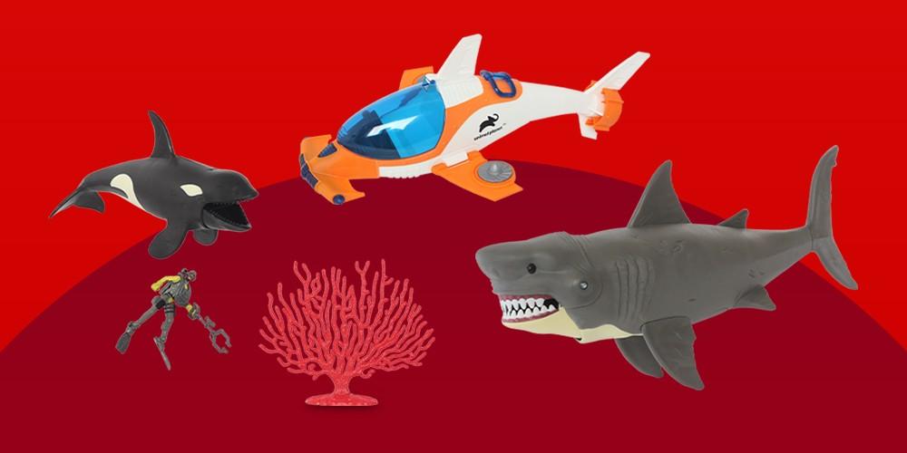 Animal Planet Deep Sea Shark Rescue Submarine Set