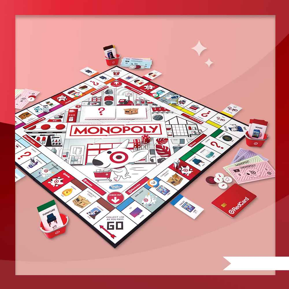 Monopoly Game: Target Edition