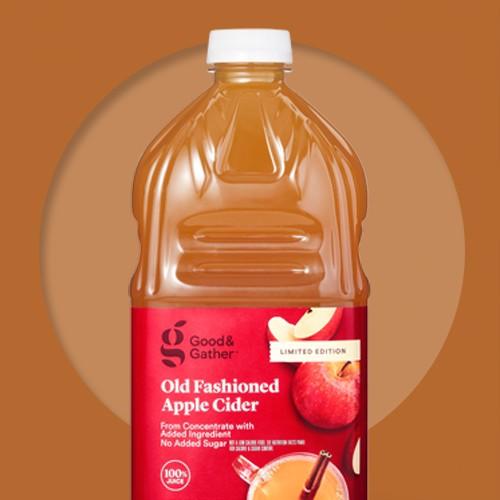 Old Fashioned Apple Cider - 64 fl oz Bottle - Good & Gather™, Honey Crisp Apple Cider - 64 fl oz Bottle - Good & Gather™