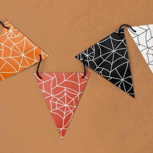Spiderweb Paper Halloween Garland - Hyde & EEK! Boutique™